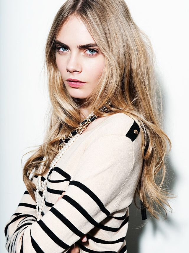 Cara Delevingne The Two Time Victorias Secret Model Has Been Chosen To Be New Face Of Topshop Taking On Role Later This Summer