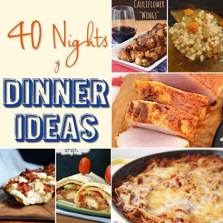 Inexpensive Dinner Ideas: Family Dinner Ideas, Cheap