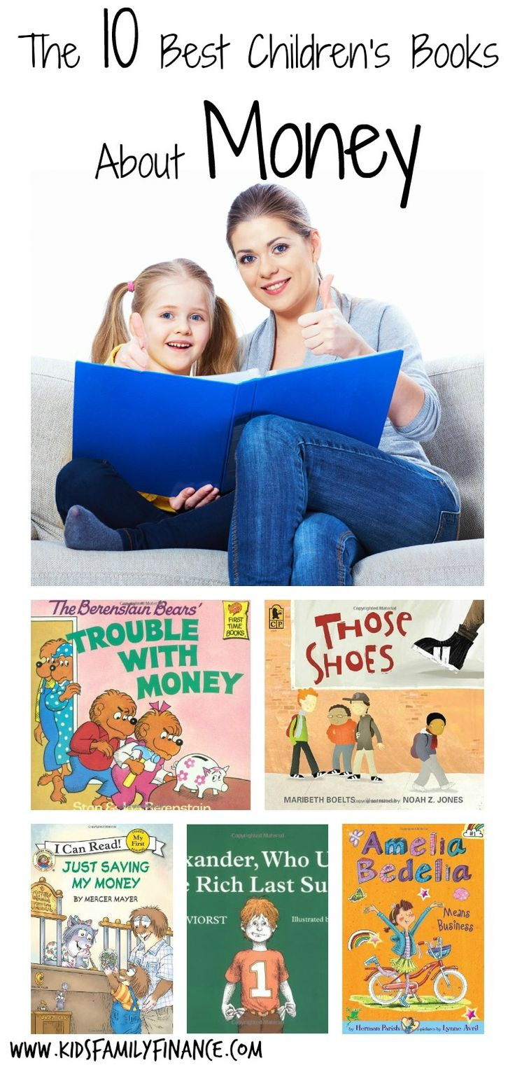 The 10 best children's books about money, education, children books, kidsfamilyfinance.com
