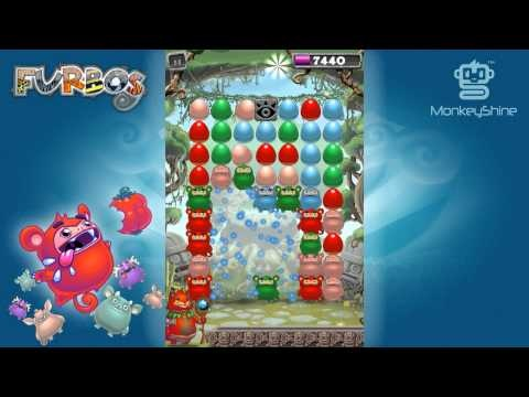 Furbos Trailer 01  Puzzle Action from Monkeyshine Studios!!