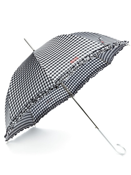 Square Vichy Umbrella by Moschino Cheap & Chic on Gilt.com