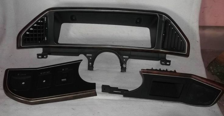 8791 F SERIES TRUCK BRONCO LARIAT WOOD DASH INSTRUMENT