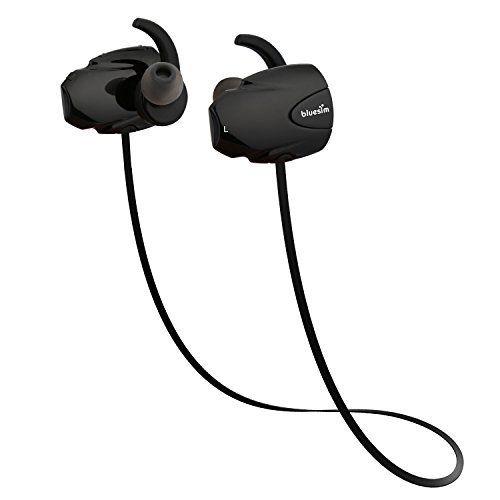 Bluesim EJ006 Ecouteur Bluetooth 4.1 Casque Bluetooth St¨¦r¨¦o sans fil Oreillettes de sport: Technologie la plus récente: Le Bluetooth 4.1…