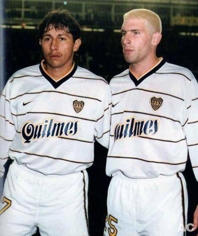 """1997... dos debuts... """"el Patron"""" Bermudez y """"el Loco"""" Palermo"""