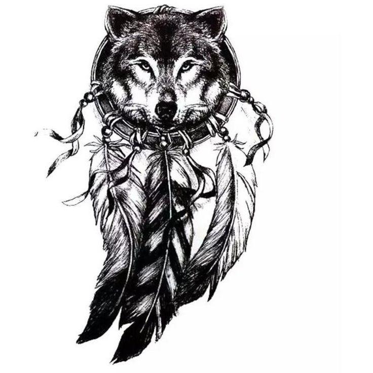 Wolf with Feather  #inktober #instatattoo #inkedlife #sleevetattoo #tatted #tattoo #tattedup #tat #tattoos #coverup