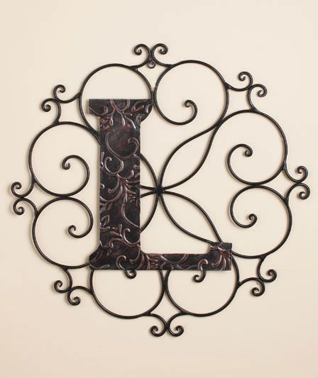 Monogram Wall Hangings|The Lakeside Collection ($14)