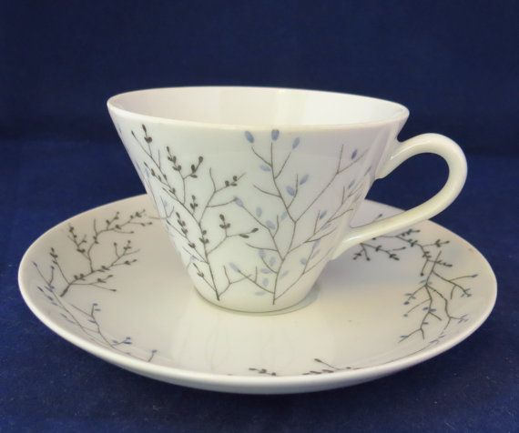 Arabia of Finland, Sommit Komp. coffee cup and saucer