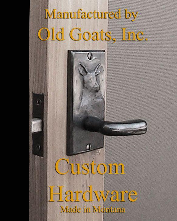 custom screen door hardware