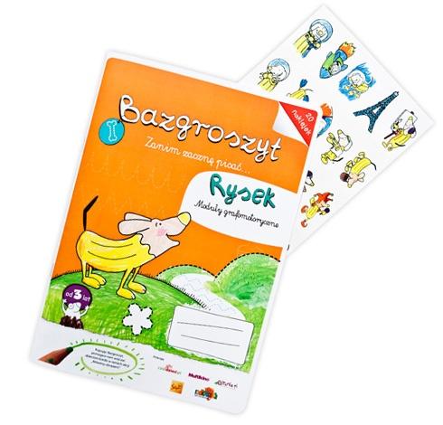 """Bazgroszyt """"Zanim zacznę pisać"""" Rysek  http://www.bazgroszyt.pl/sklep/produkty/bazgroszyt-rysek-129"""