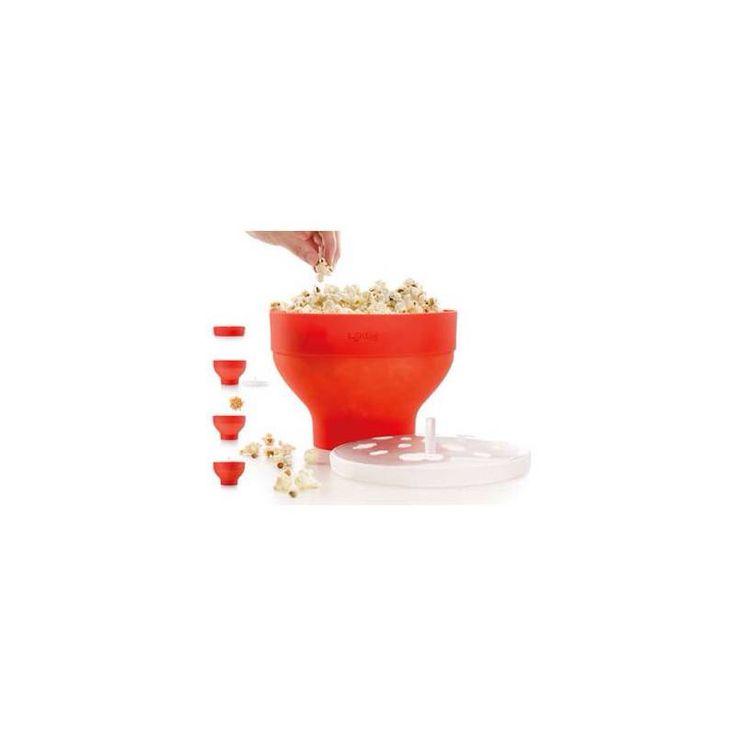 Scopri l'innovativo #CuociPopcorn per #microonde di #Lékué ... In poco tempo ottieni fantastici #popcorn in tantissimi modi: al #curry, al #cioccolato, al #cocco, alle #erbe... stupisci i tuoi #amici con #ricette sfiziose che trovi nel #ricettario già incluso nella #confezione. #villamontesiro #fratelli_villamontesiro #villa_casalinghi #ul_piatè_de_munt http://www.cucinaincasa.com/it/lekue-stampo-cakepops-18-cavit-rosa-25x43cm-3596.html