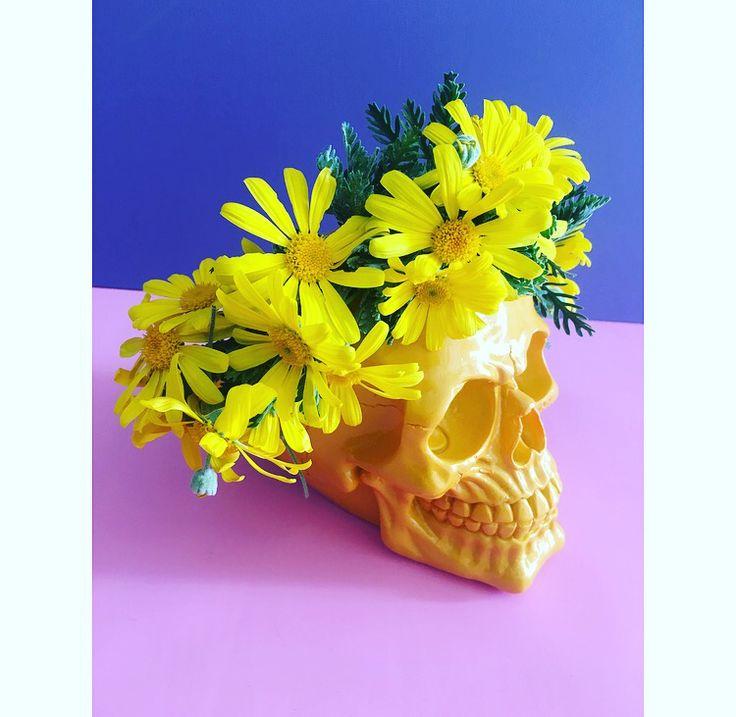 Wild yellow daisy flower crown by Bettie Bee Blooms.