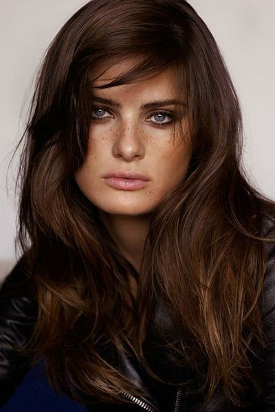 Dark Cool Coffee Brown  - 20 Gorgeous Brown Color Hair Ideas for Winter - Photos