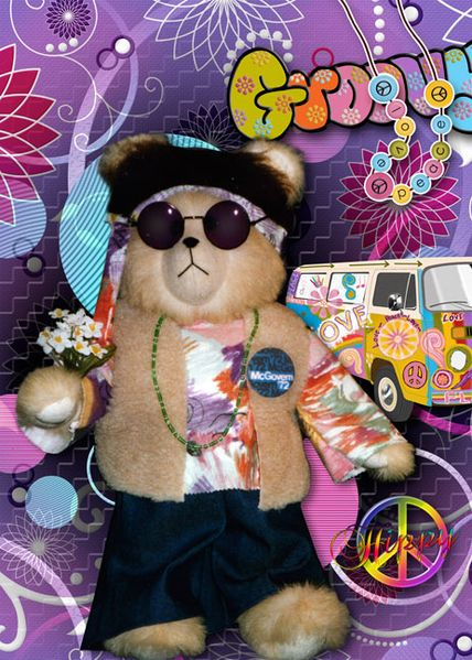 H is for Hippy by Tbear. Kit: Retro Baby! Retro! by CL Graphics http://scrapbird.com/designers-c-73/a-c-c-73_514/country-livs-graphics-c-73_514_351/clgraphics-retro-baby-retro-page-kit-p-17750.html