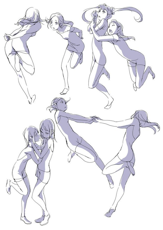 This is a picture of Invaluable Balllroom Dancing Refrence Drawing