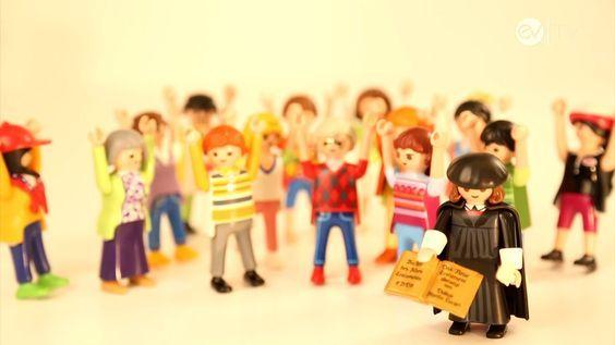 Geschichte mit dem Playmobil-Luther: Reformation einfach erklärt
