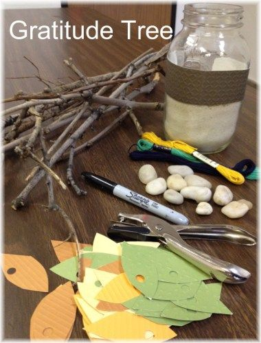 Growing Abundance: Gratitude Tree Making | creativity in motion