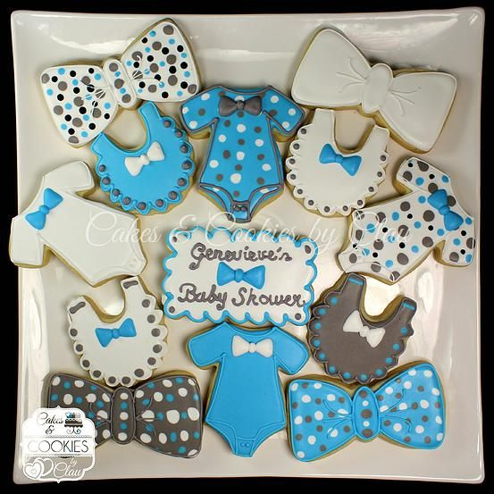 Baby Announcement Cookie Cake