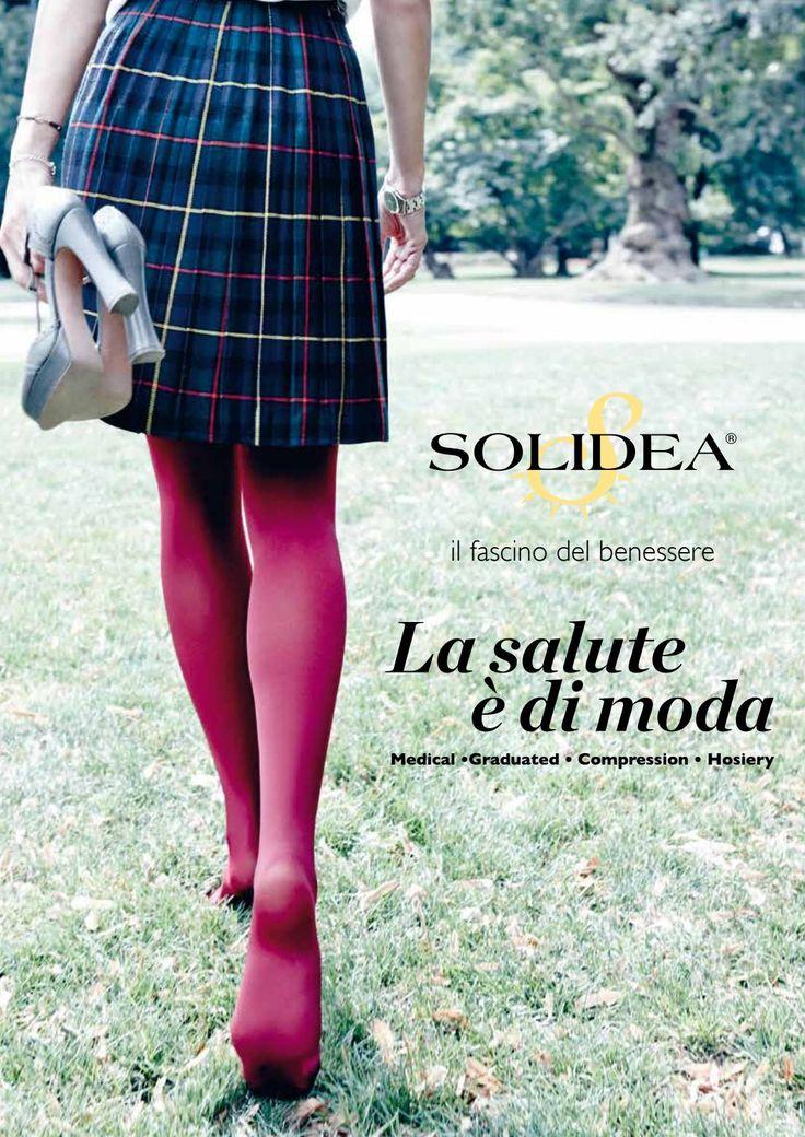 Catalogo generale italiano Solidea by Calzificio Pinelli