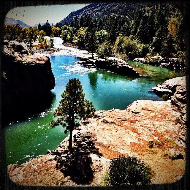 Baker's Bridge near Durango Colorado is home to the famous cliff jumping scene from Butch Cassidy and the Sundance Kid.