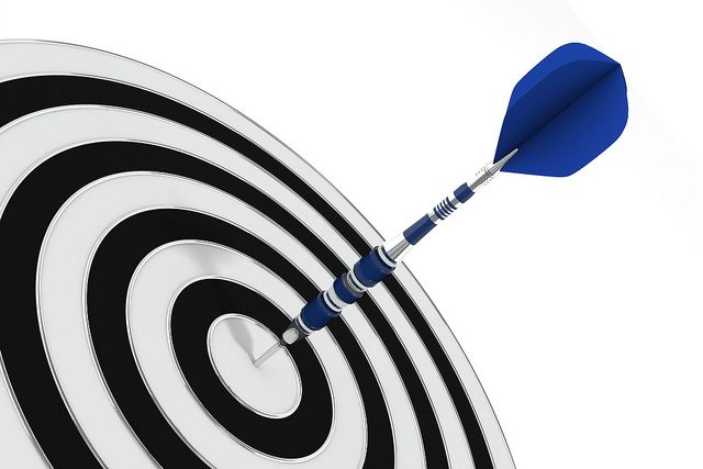Hit the mark! Our latest blog looks at goal-setting and keeping that elusive motivation. Image: 3D Bullseye by StockMonkeys.com, via Flickr