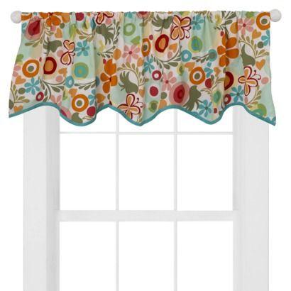 Cotton tale designs lizzie valance window ideas for Window cotton design