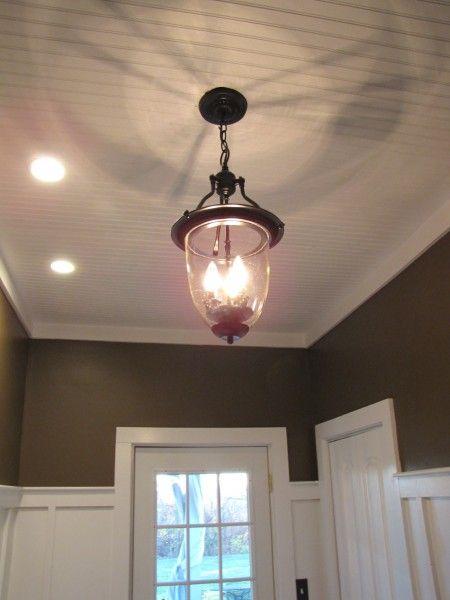 pottery barn style pendant light/ceiling