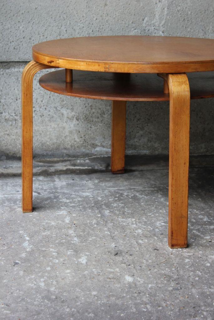 Table 907B, Alvar Aalto, Artek (Finmar), Finland, 1935