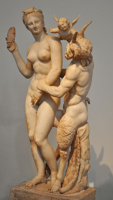 The love games of Aphrodite and Pan at the National Archeological Museum of…