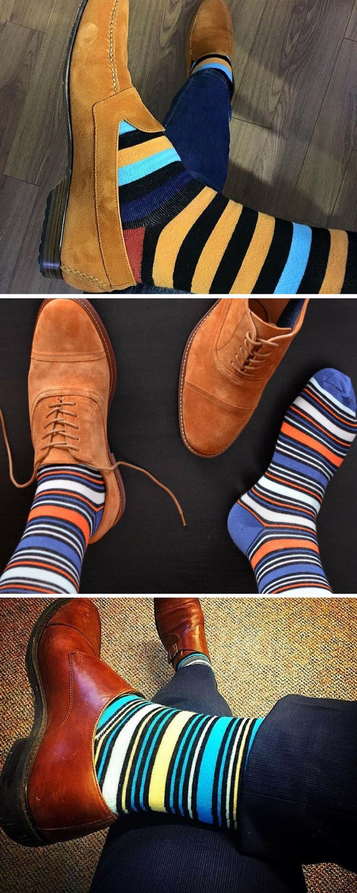 Just because the pattern is basic doesn't mean it should suck. We make sure that even basic patterns look awesome.  Soxy.com designs the coolest, most fun dress socks.