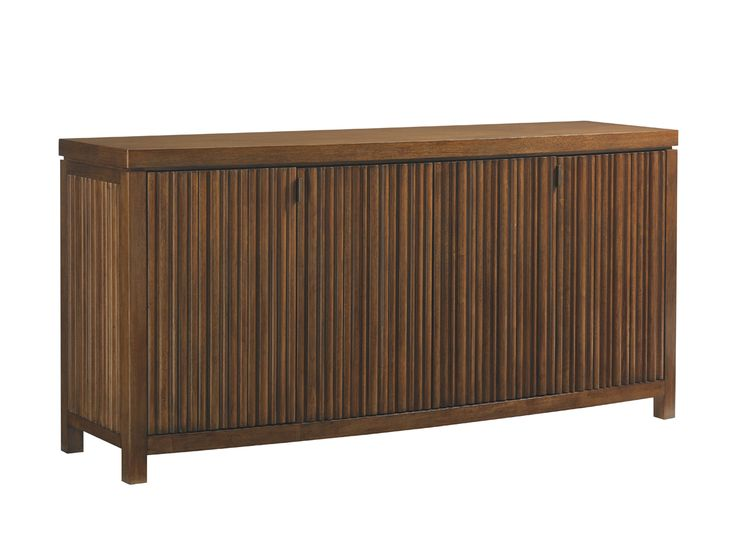 Shop For Tommy Bahama Home Island Fusion Sapporo Buffet And Other Dining Room Cabinets Embraces The Zen Side Of