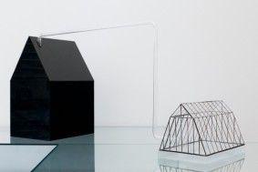 Helena Ťapajnová, Domček, product design, Atelier Design skla, zdroj: Galerie Sýpka #design #czechdesign