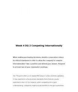 MGT322   MGT 322   Week 4 DQ 2 Competing Internationally --> http://www.scribd.com/doc/157681607/mgt322-mgt-322-week-4-dq-2-competing-internationally