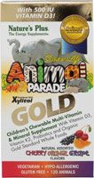 Nature's Plus Animal Parade® Gold Children's Chewable Multi-Vitamin and Mineral Assorted
