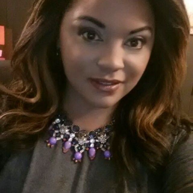 Loving this #Walmart statement necklace I rocked on TMZ today! $10 and I love it! #necklace #accessories