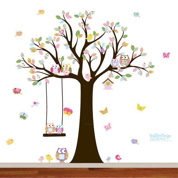 1000 id es sur le th me autocollant d calcomanie murale sur pinterest art mural autocollant - Eloigner les oiseaux des arbres fruitiers ...
