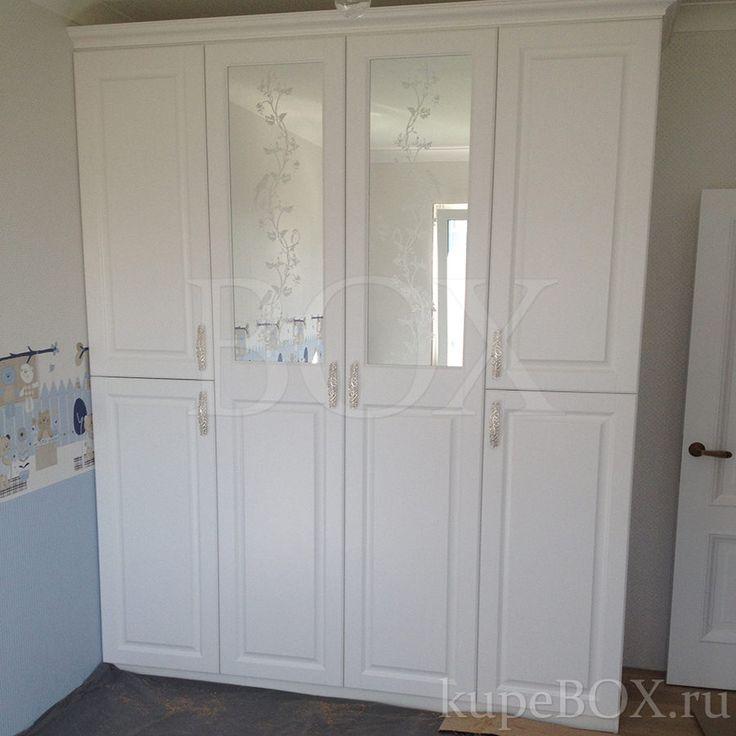 На фото: Шкаф из МДФ для детской комнаты
