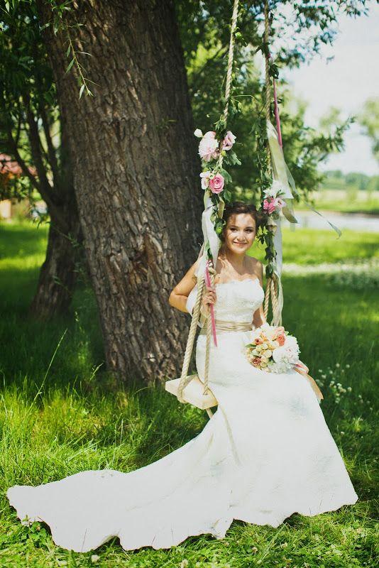 Свадебный декор для Вики и Дениса (часть 2) - flowerbazar.ru, цветочные качели