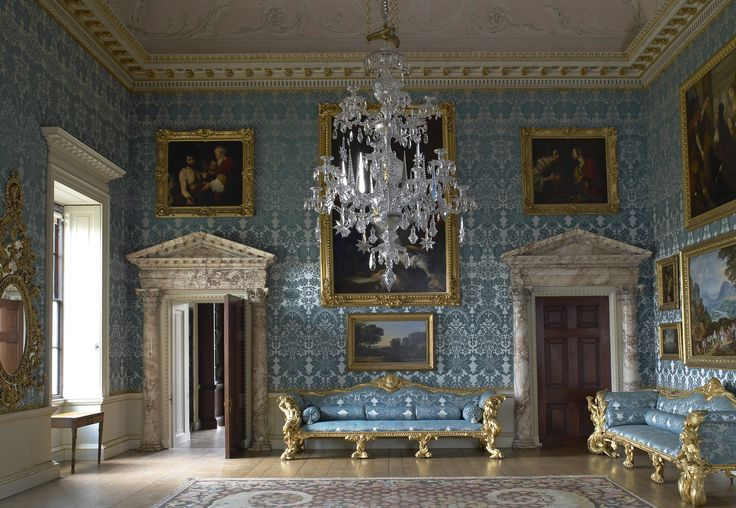 Tour 5 Magnificent 18th-Century Country Houses Photos | Architectural Digest