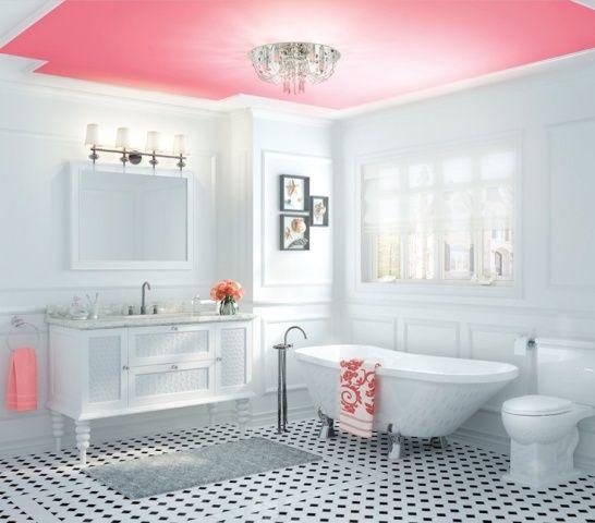 114 best Combles Salle de bain images on Pinterest Bathroom - peindre plafond salle de bain