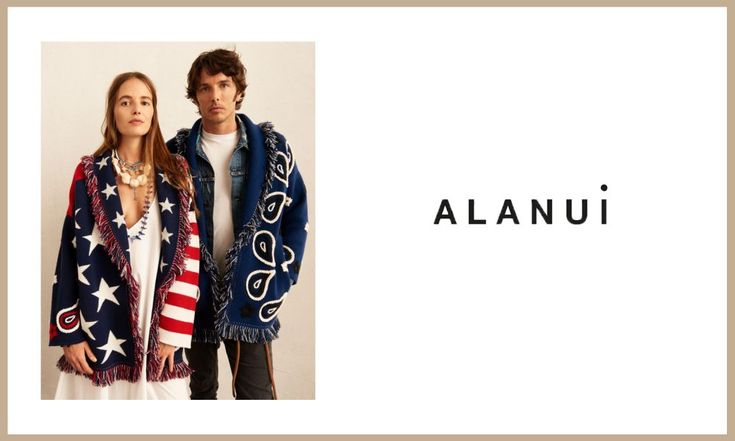 Alanui is known for its cuddly, ethnic-style cardigans. The label's co-founder is also its muse – that stylish Italian, Carlotta Oddi