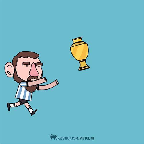 #CuriosidadesDelFútbol Felicitaciones a la selección de #Chile por lograr el campeonato de la #CopaAmericaCentenario. Respetos a la selección #Argentina por su entrega durante todo el torneo.