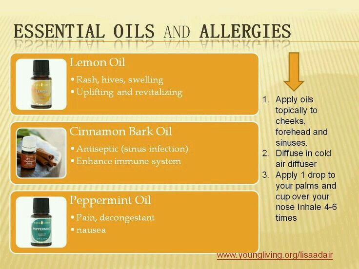 99 Best Images About Sinus Allergy Young Living On
