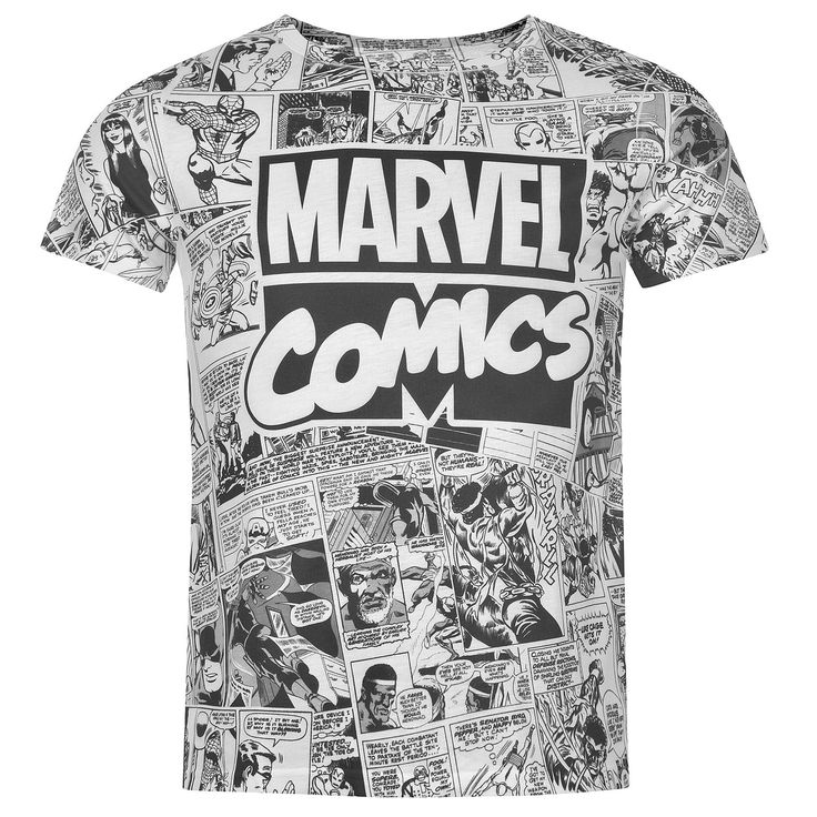 Tričko Character Sub T Shirt Pánské Marvel