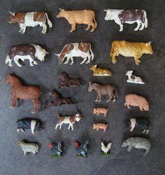 Brittain's plastic farm animals