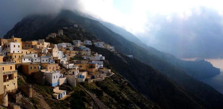 Olympos - Karphatos island, Greece
