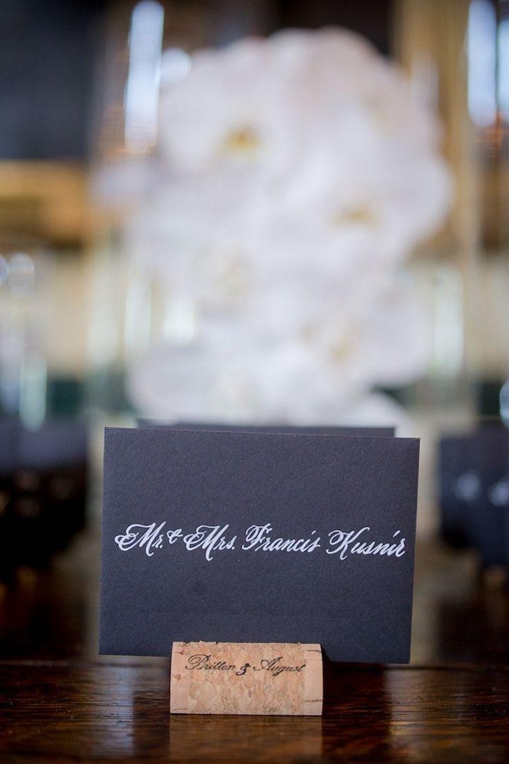 269 best Wedding Place Card Ideas images on Pinterest | Wedding ...