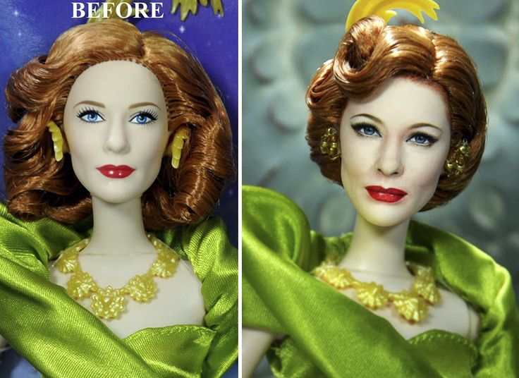 Best Realistic Celebrity Dolls By Noel Cruz Images On - Artist repaints disney princesses to look more realistic with amazing results