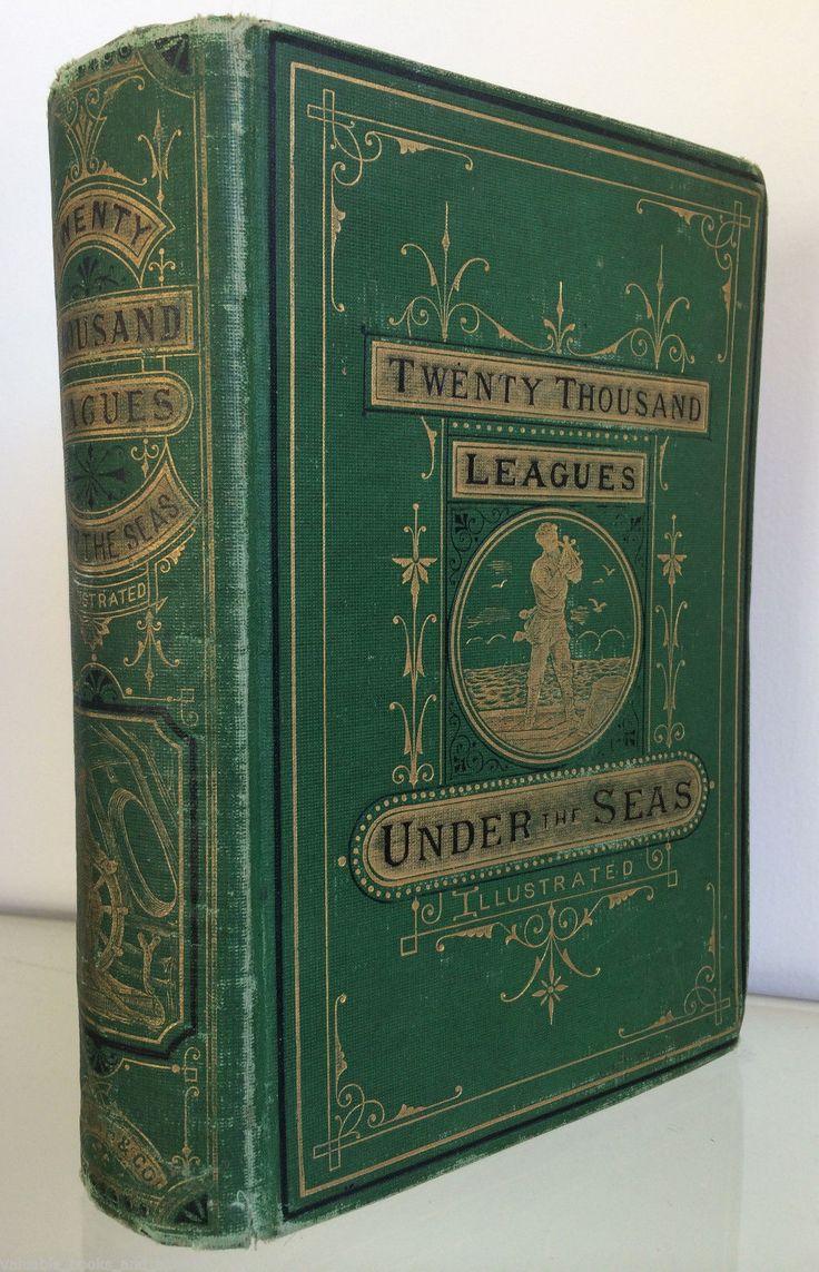 Antique Jules Verne 1873 20 000 Twenty Thousand Leagues Under The Sea Smith 2nd | eBay