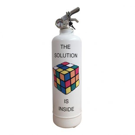 Extincteur RUBIK'S Solution Inside - Fire Design, c'est des extincteurs fabriqués en France qui décorent votre intérieur