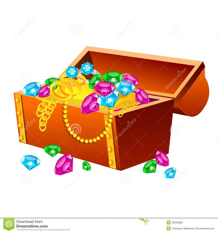 Treasure Chest Royalty Free Stock Image - Image: 33342836